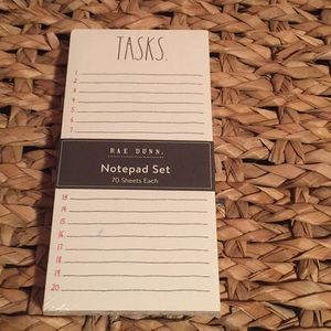 Rae Dunn Notepad Set